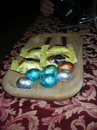 Da Gigi Salumi Formaggi Vini: Selezione di cioccolato Bodrato