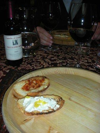Da Gigi Salumi Formaggi Vini: Bruschette