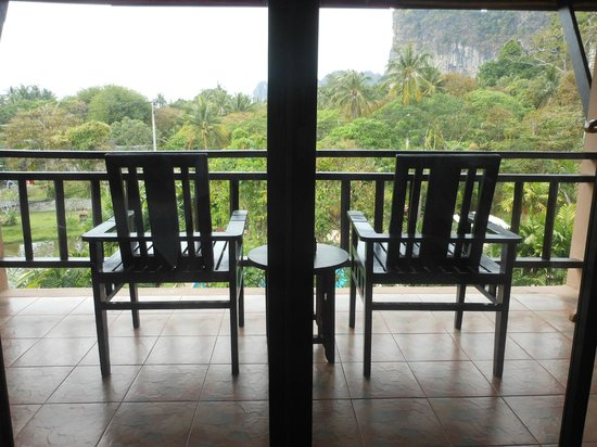 Railay Princess Resort & Spa:                                     balcony