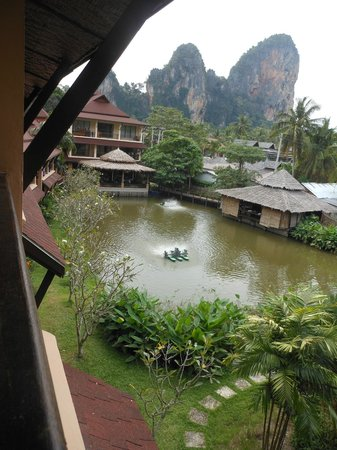 Railay Princess Resort & Spa:                                     balcony view