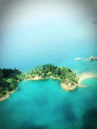 Flight Hauraki:                   Unbelievable scenery from above