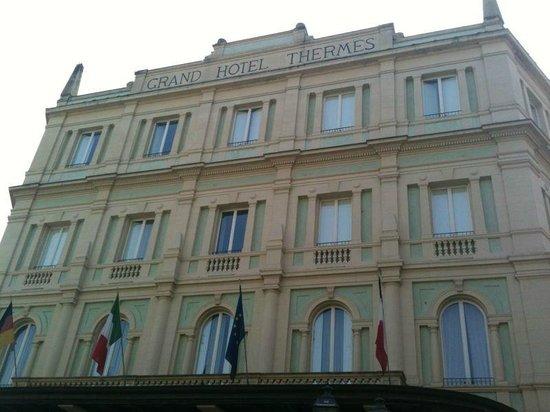 Grand Hotel Nuove Terme: Facciata