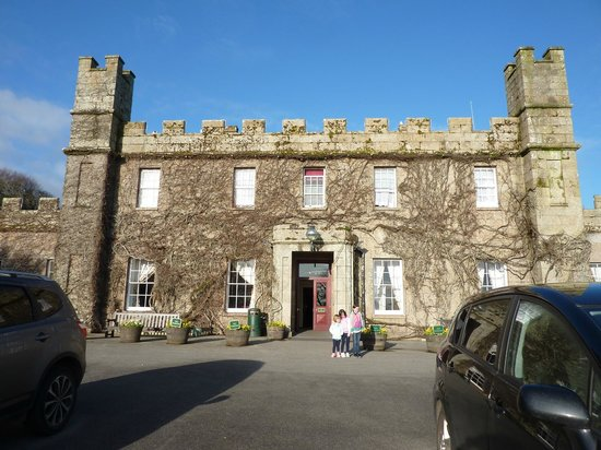 Tregenna Castle Resort:                   the front of the hotel