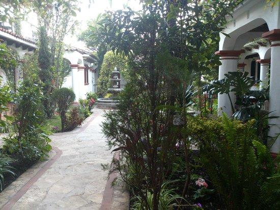 Hotel Posada Jovel:                   patio central