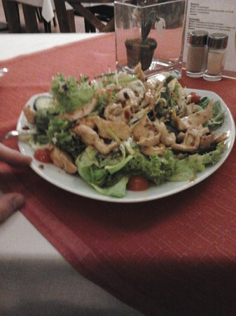 Arbachmühle:                   One of the salads