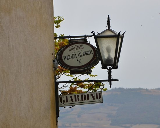 The perfect lunch spot in Pienza - Picture of Terrazza Val D\'Orcia ...