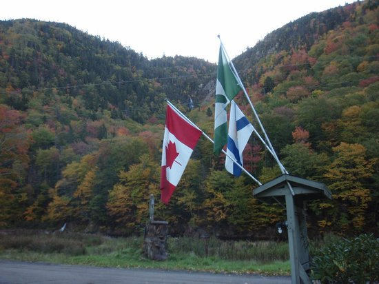Big Intervale Fishing Lodge:                   Cape Breton in her glory.