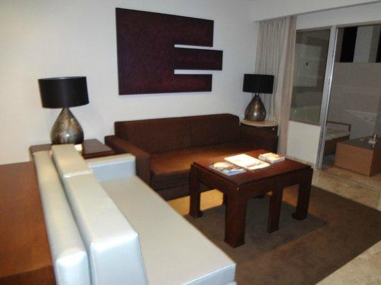 Paradisus Playa Del Carmen La Esmeralda:                   living room