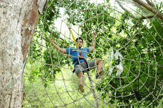 Las Animas Adventure Park:                   spiderweb de lo mas divertido