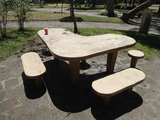 Parc national Manuel-Antonio :                   mesa em formato de coração do Parque Nacional