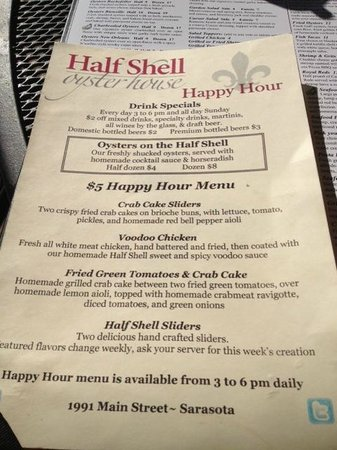 shell happy hour