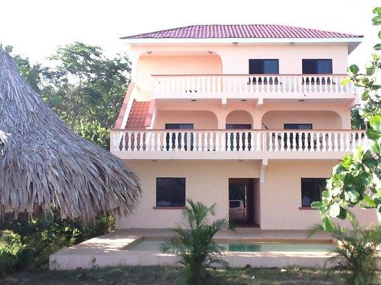 Casa de Tranquilidad:                   Front of Property