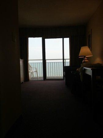 Ocean Drive Beach and Golf Resort:                                     9th floor room