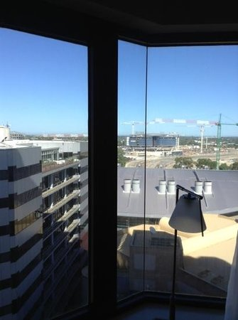 InterContinental Adelaide:                   the view