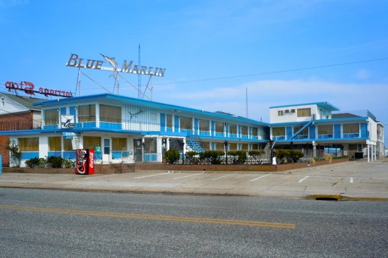 The Blue Marlin Motel , Wuldwood Crest NJ