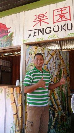Tengoku Japanese Restaurant:                   Chef Jose