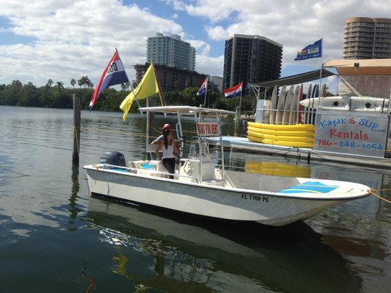 Miami Catamarans - Kayaks & Paddleboards Eco Tours: Power boats, fully equipped