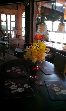 Howard Creek Ranch:                   Fresh flowers in the common areas
