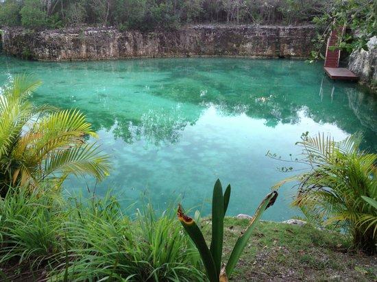 Blue Diamond Riviera Maya:                   Cenote
