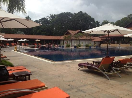 Club Med Cherating Beach:                                     the main pool