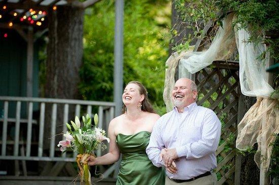 Rio Villa Beach Resort: Giving away the bride... it happens here