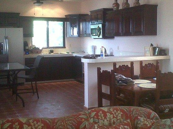 Casa de Tranquilidad:                   2nd floor - all 4 guestrooms have access.