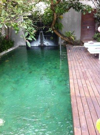Kei villa:                   private pool