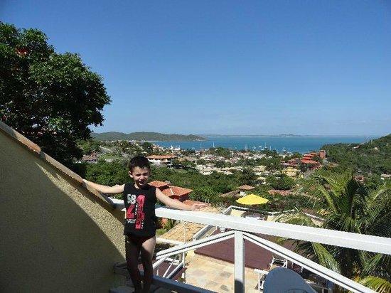 Hotel Pousada e Spa Villa Mercedes:                   vista del balcon