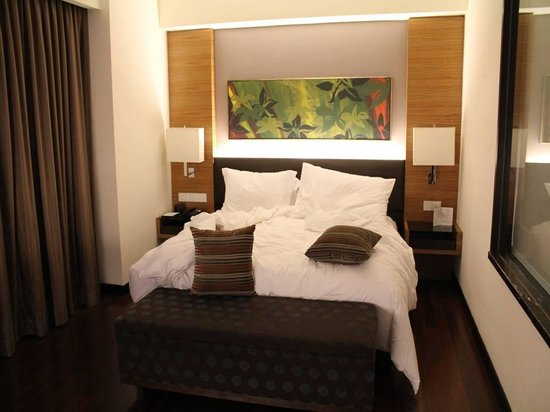 Impiana KLCC Hotel:                   King-sized bed