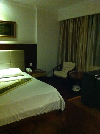 Diamond Hotel:                   room