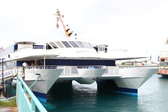 Atlantis Cruises:                   Navatek