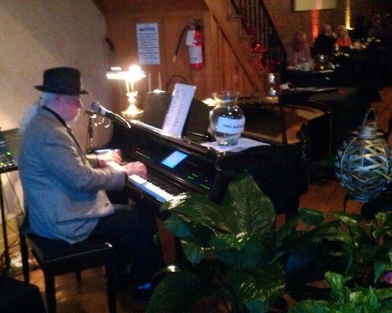 Memories & More Restaurant and Piano Bar:                   The pianist at Memories & More