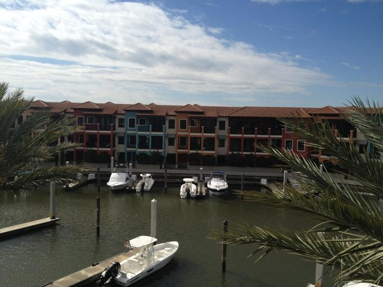 Naples Bay Resort:                                     Marina View from the room