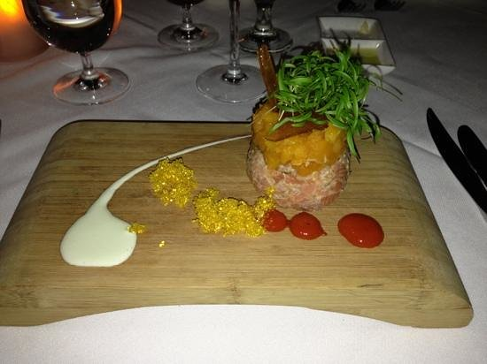 Muse:                   Trout tartare