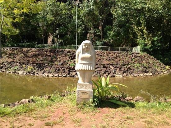 Ribeirao Preto, SP:                                     estatua do curupira