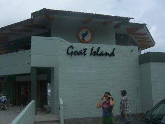 Goat Island Cafe:                   Goat Island