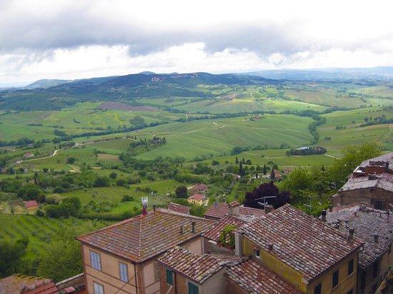Meuble il Riccio :                                     View from the balcony