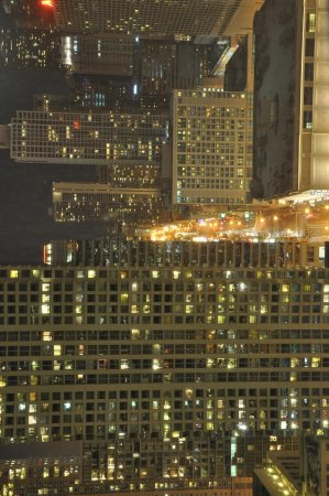 Trump International Hotel & Tower Chicago:                                     View from 2520