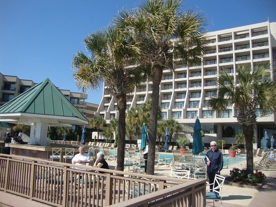 Hilton Head Marriott Resort & Spa:                                     pool area