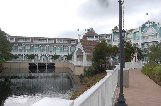 Disney's Beach Club Villas:                   Resort view