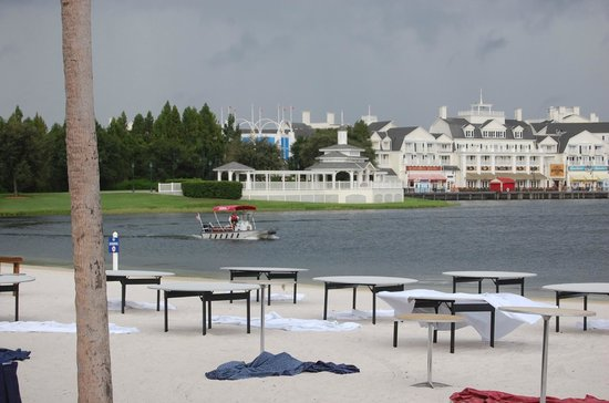 Disney's Beach Club Villas:                   More views/beach