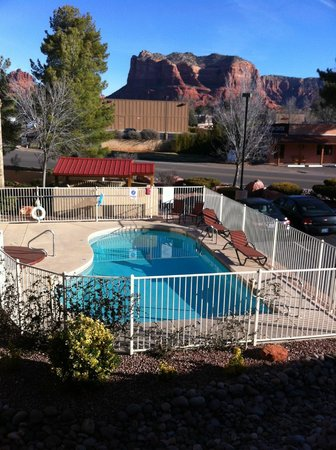 The Views Inn Sedona: better views from top floor