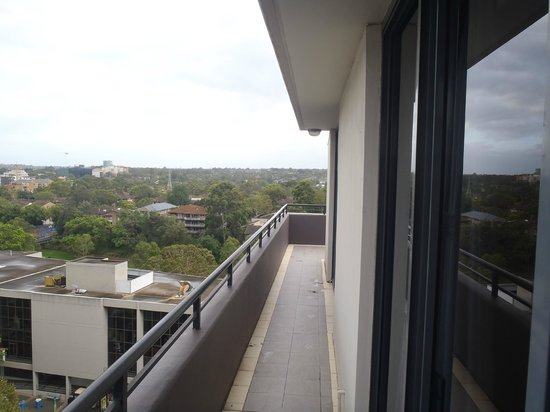 View From 1st Floor Balcony Off Bedrooms Picture Of