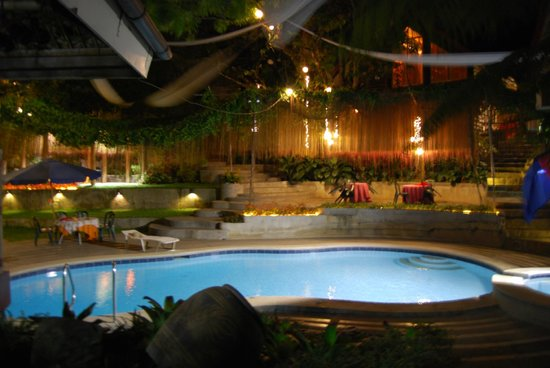 Pool View At Night Picture Of Callospa Resort Antipolo City