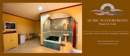 Subic, Philippinen: Jacuzzi Suite