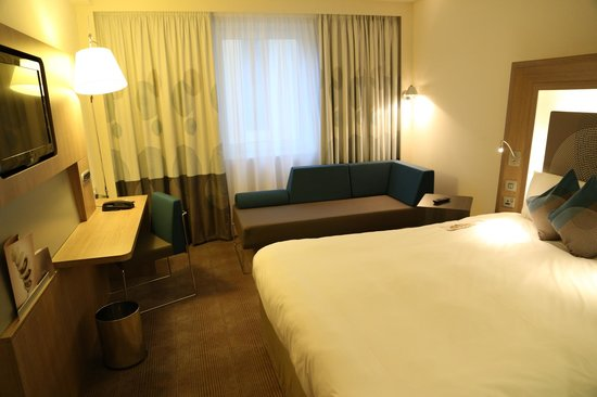 Novotel London Blackfriars:                   room on the sixth floor