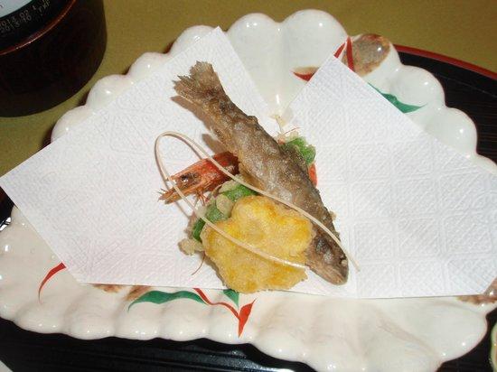 Iwayakan:                   料理②(天ぷら)