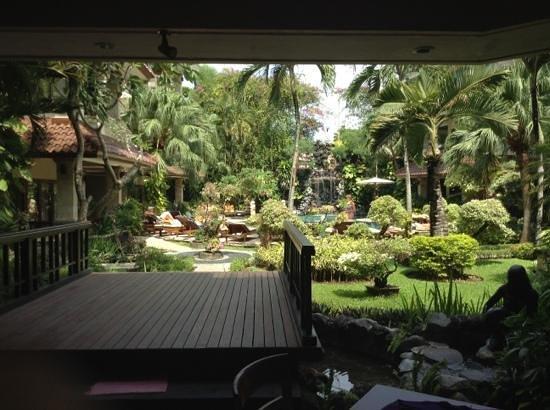 Parigata Resort & Spa:                   Udsigt fra restauranten