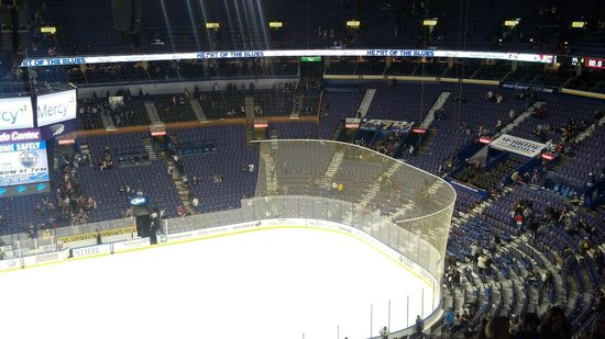Scottrade Center West End Seating Area