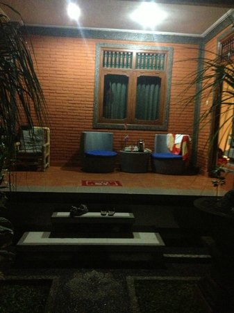 Duana's Homestay:                                     our nice bungalow